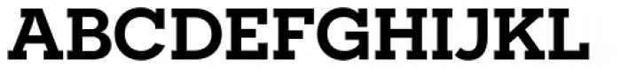 Novecento Slab Wide DemiBold Font UPPERCASE