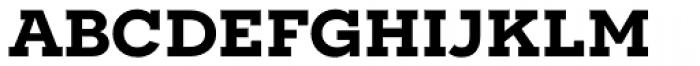 Novecento Slab Wide DemiBold Font LOWERCASE