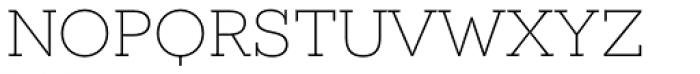 Novecento Slab Wide UltraLight Font LOWERCASE