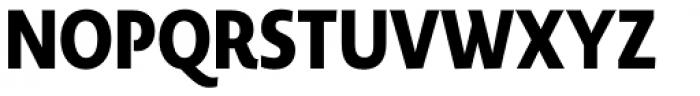 Novel Display Black Compressed Font UPPERCASE
