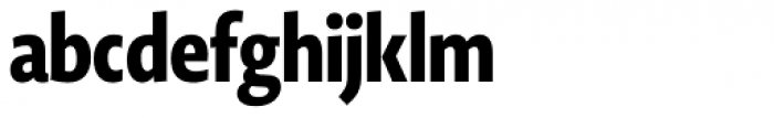 Novel Display Black Compressed Font LOWERCASE