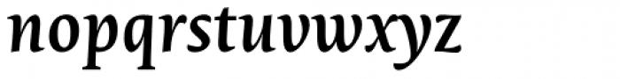 Novel Pro SemiBold Italic Font LOWERCASE
