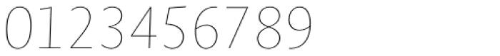 Novel Sans Hair 18 Italic Font OTHER CHARS