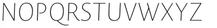 Novel Sans Hair 30 Italic Font UPPERCASE