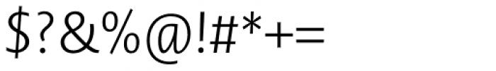 Novel Sans Pro ExtraLight Italic Font OTHER CHARS