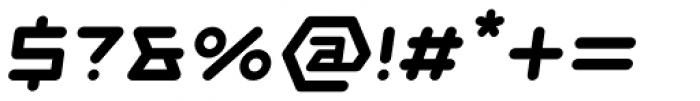 Novella Bold Italic Font OTHER CHARS