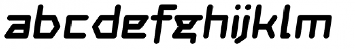 Novella Bold Italic Font LOWERCASE