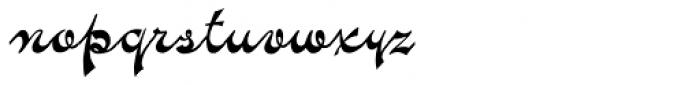 Novelty Script Font LOWERCASE