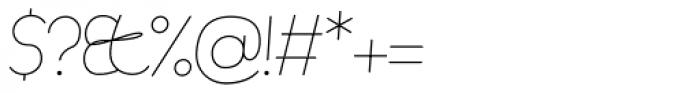 November Script Font OTHER CHARS