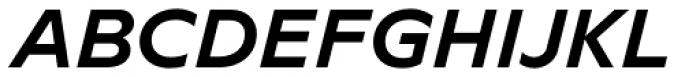 Novera Classic Bold Italic Font UPPERCASE
