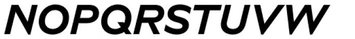 Novera Modern Bold Italic Font UPPERCASE