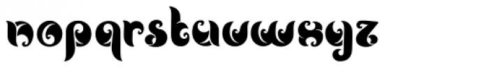 Noveu Font LOWERCASE