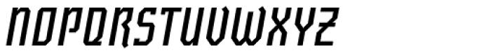 Novice Cond Bold Obl Font UPPERCASE