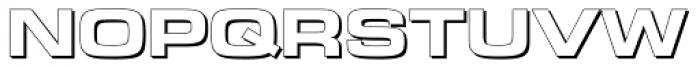 Novin Shadow Font UPPERCASE