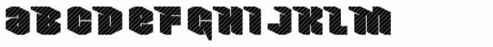 Nowy Geroy 4F Stripes Font LOWERCASE