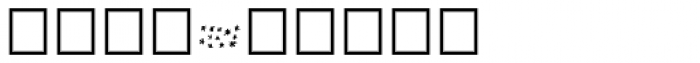 Noyh A Hand Pattern Font OTHER CHARS
