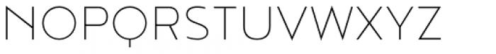 Noyh Geometric Extra Light Font UPPERCASE