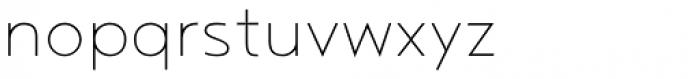 Noyh Geometric Extra Light Font LOWERCASE