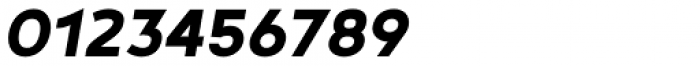 Noyh Geometric Heavy Italic Font OTHER CHARS