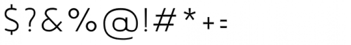 Noyh Geometric Slim Light Font OTHER CHARS