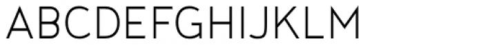 Noyh Geometric Slim Light Font UPPERCASE