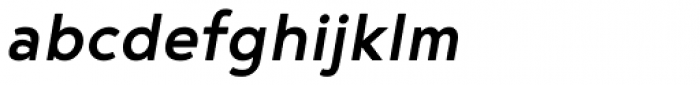 Noyh Medium Italic Font LOWERCASE