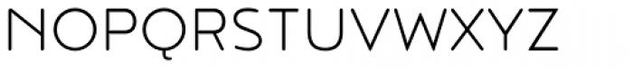Noyh R Light Font UPPERCASE