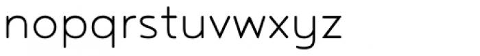 Noyh R Light Font LOWERCASE