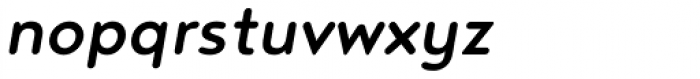 Noyh R Medium Italic Font LOWERCASE
