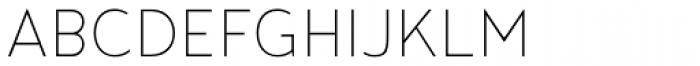 Noyh Slim ExtraLight Font UPPERCASE