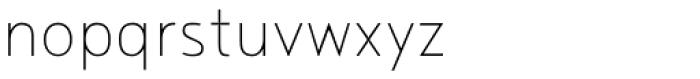 Noyh Slim ExtraLight Font LOWERCASE