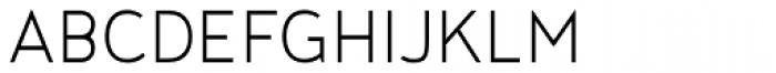 Noyh Slim Light Font UPPERCASE