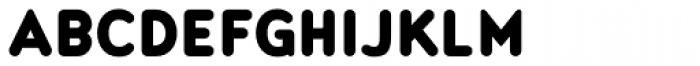 Noyh Slim R Black Font UPPERCASE