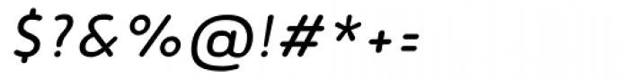 Noyh Slim R Italic Font OTHER CHARS