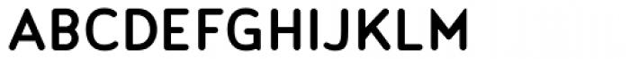 Noyh Slim R Medium Font UPPERCASE