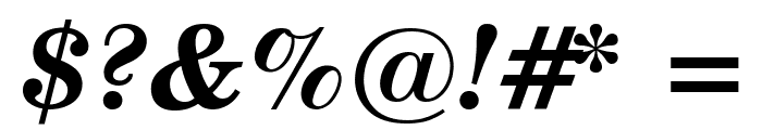 Notebook Bold Italic Font OTHER CHARS