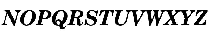 Notebook Bold Italic Font UPPERCASE