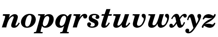 Notebook Bold Italic Font LOWERCASE