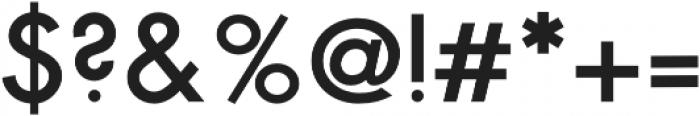 NPSGeo1940s Regular otf (400) Font OTHER CHARS