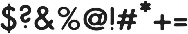 NPSGeo1940sPress Regular otf (400) Font OTHER CHARS