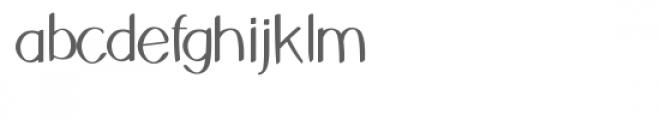 ns-breezy island font Font LOWERCASE