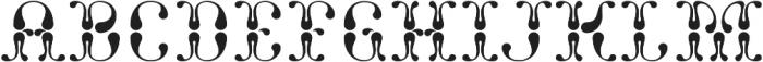 NT Fata Background otf (400) Font UPPERCASE