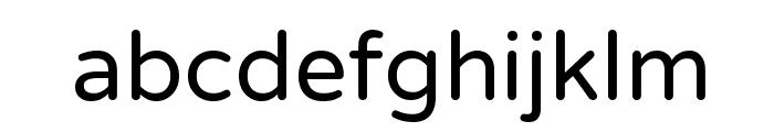 NTR Font LOWERCASE