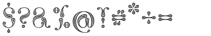 NT Fata Morgana Font OTHER CHARS