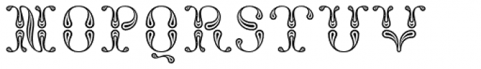 NT Fata Morgana Font LOWERCASE