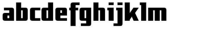 NT Gagarin Ossip Font LOWERCASE