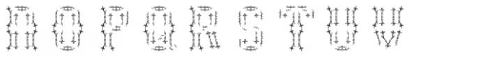 NT Guru Four Font LOWERCASE