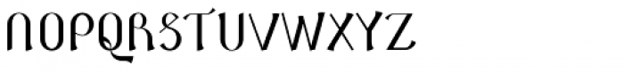 NT Novo Fika Font UPPERCASE