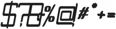 NUNU Bold Italic otf (700) Font OTHER CHARS