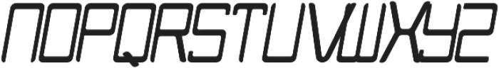 NUNU Bold Italic otf (700) Font UPPERCASE